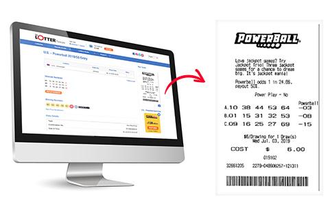 Escaneo de boletos de lotería de forma segura