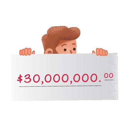 Posibles ganadores de lotería Cash4 Life
