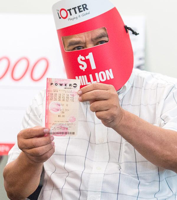 Jugadores británicos de lotería ganan premio de US$1 millón en Powerball