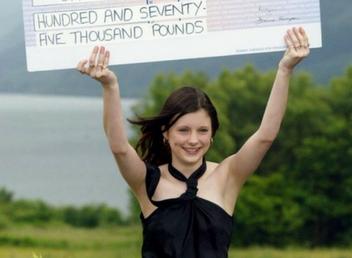 ganadora de lotería Callie Rogers