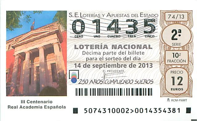 cultura, educacion y loteria