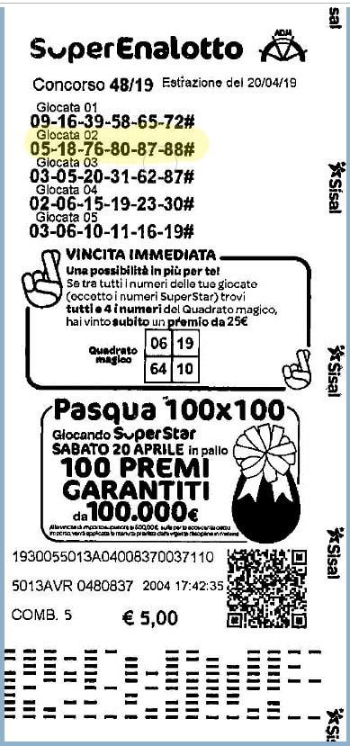 ganador Austria Lotto
