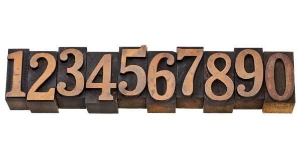 Combinación de números