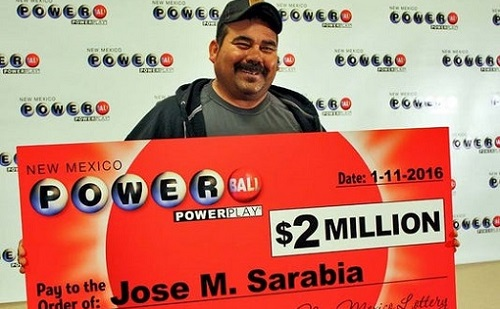 José Sarabia Powerball