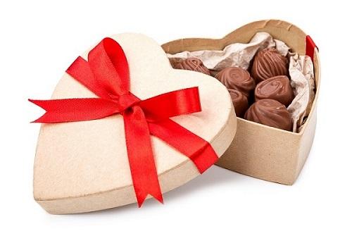 bombón de chocolate